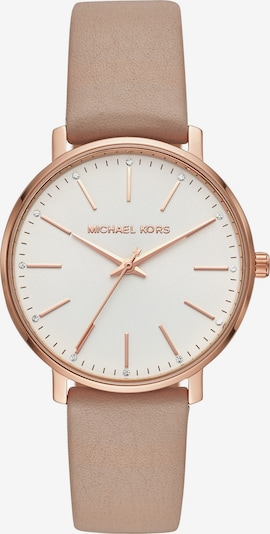 Michael Kors Analog watch in light beige / rose gold, Item view