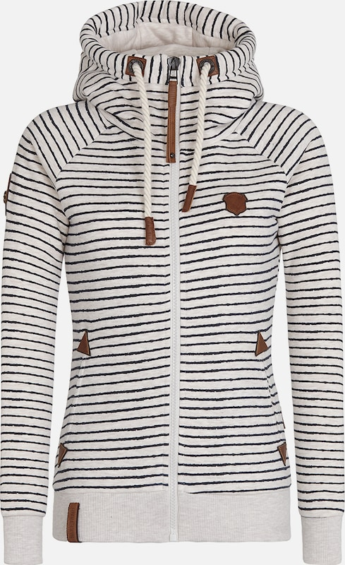 naketano Female Zipped Jacket 'Nasenhaarwickler'