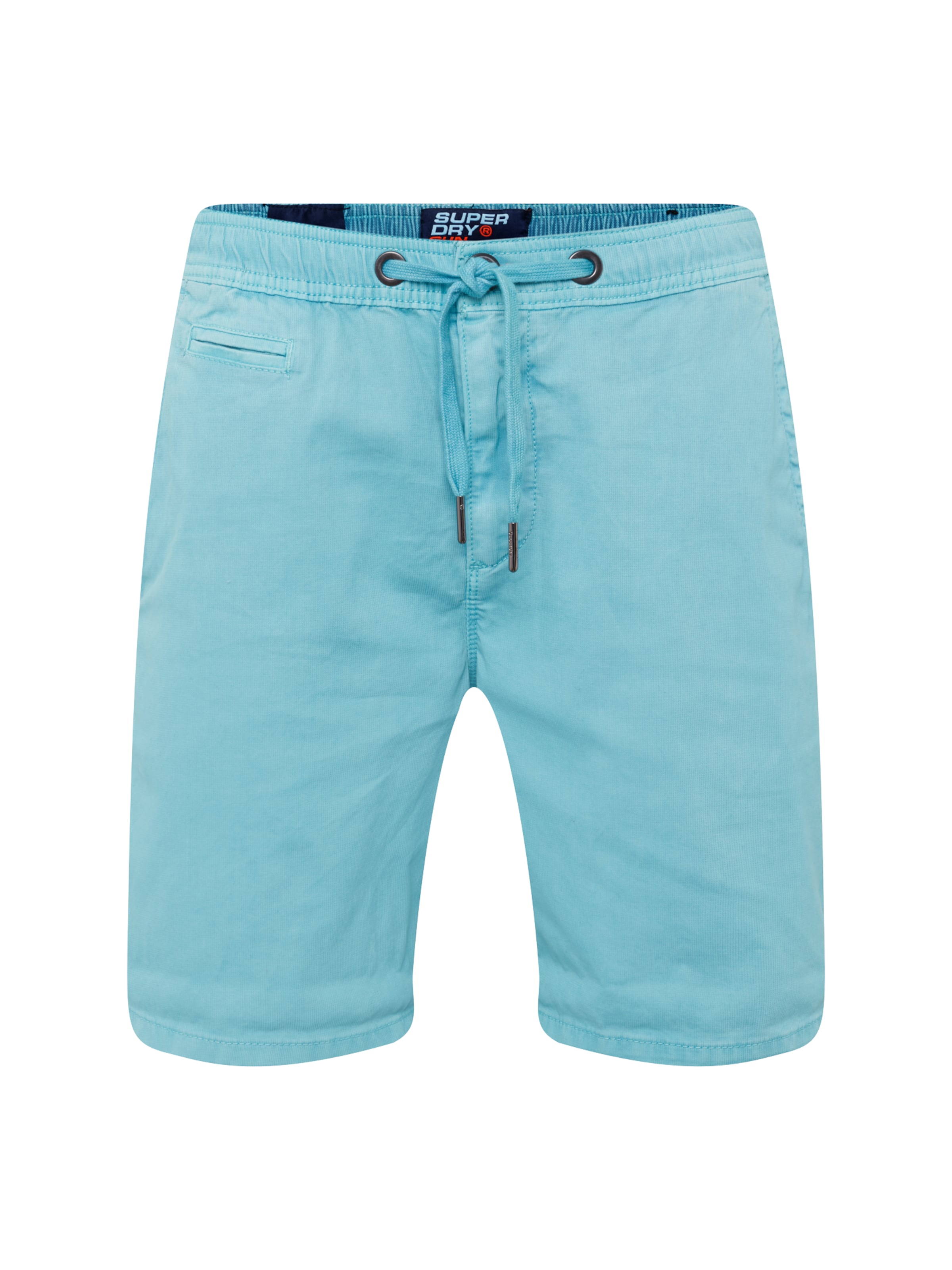 Superdry En Pantalon 'sunscorched' Bleu Clair HD9IYW2E