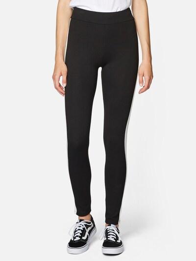 Mavi Hosen Regular ' TAPE DETAIL PANTS ' in schwarz, Modelansicht