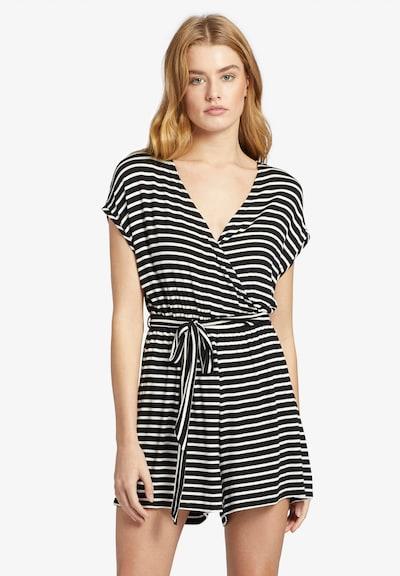 khujo Jumpsuit ' MAGDALENA ' in de kleur Zwart / Wit, Productweergave