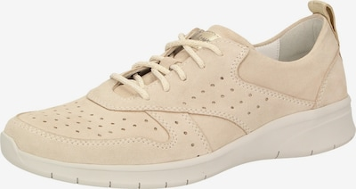SIOUX Sneaker 'Liduma' in creme / rosegold: Frontalansicht