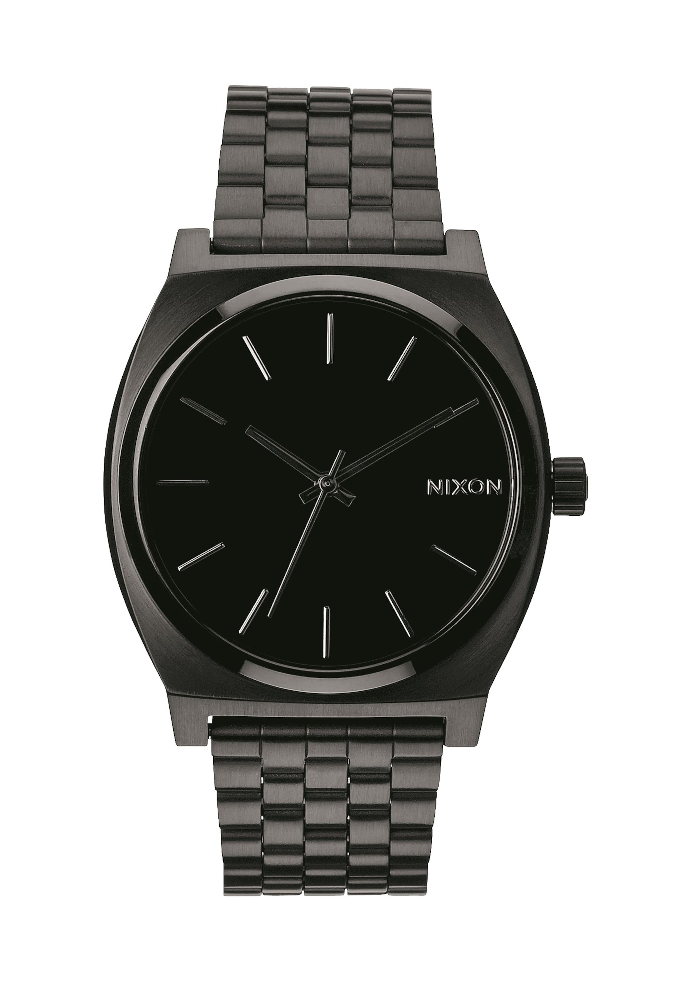 Armbanduhr Teller' Nixon In 'time GoldSchwarz AR3c5L4jq