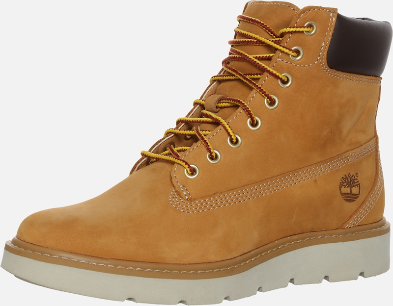 TIMBERLAND Veterlaarsjes 'Kenniston 6in Lace Up' in de kleur Chocoladebruin / Cognac, Productweergave