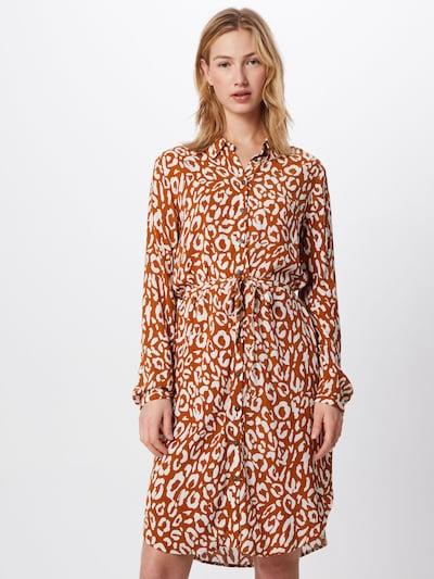 OBJECT Kleid 'OBJBAY' in braun, Modelansicht