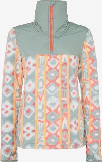O'NEILL Sweat de sport 'ORIGINAL' en vert pastel / orange, Vue avec produit