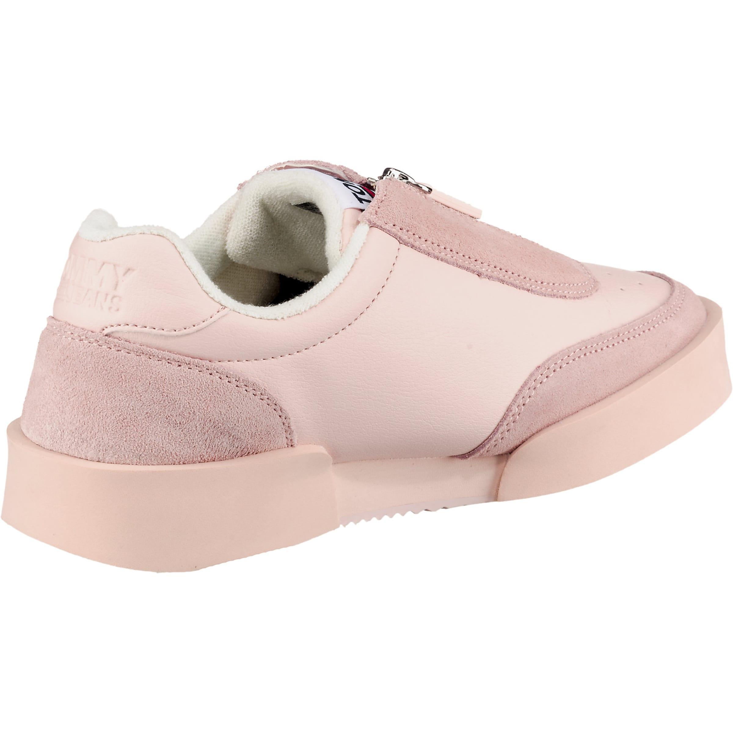 'tommy Sneaker' Light Zipper Tommy Jeans Sneaker Rosa In mN8nw0