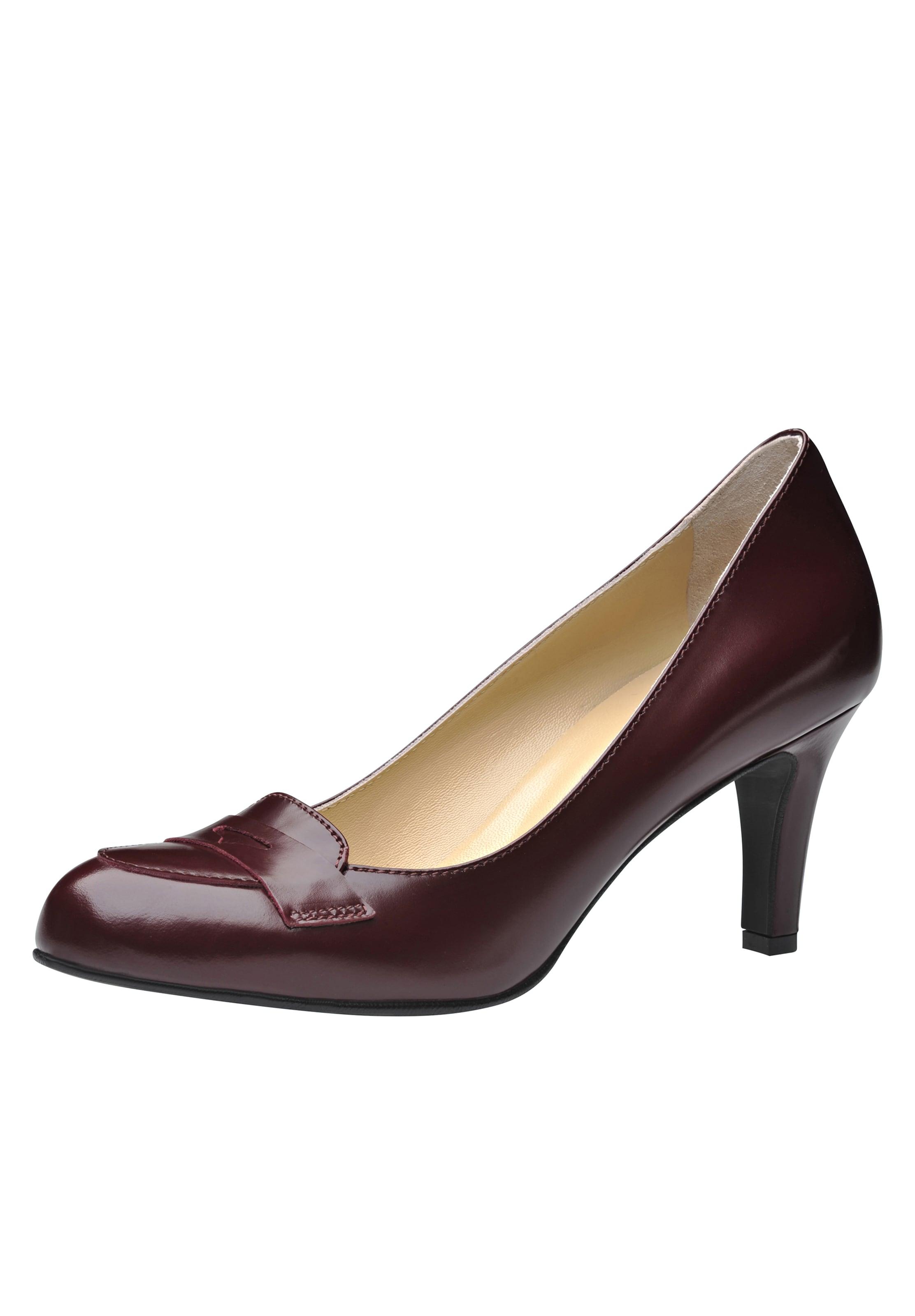 Evita Bordeaux Pumps In Damen Evita uFK53lT1Jc