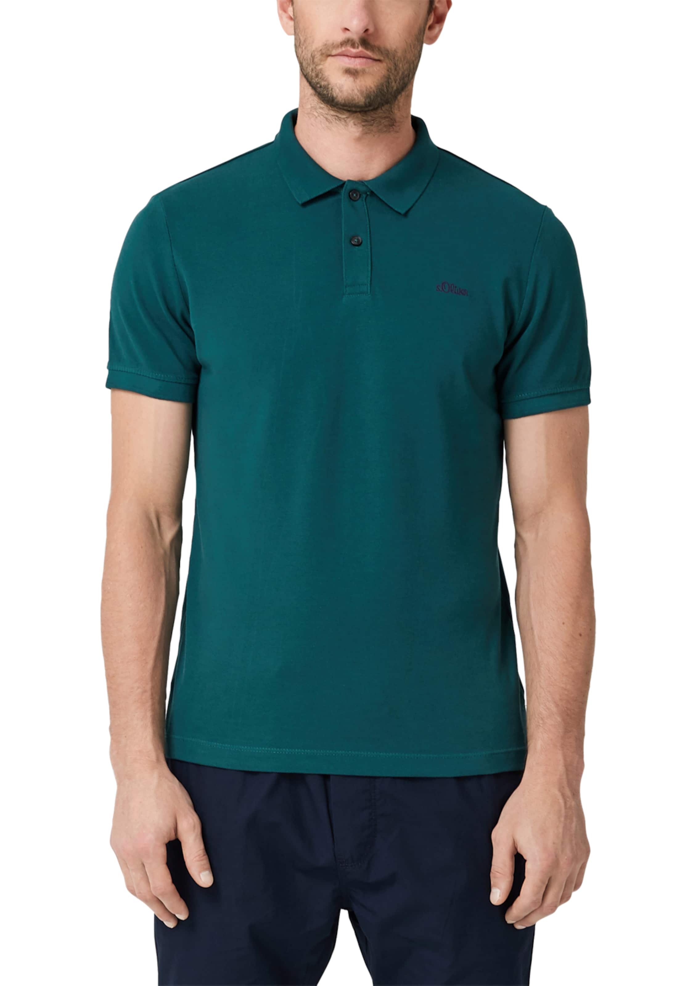 In S oliver S Pastellblau Poloshirt CoWderxB