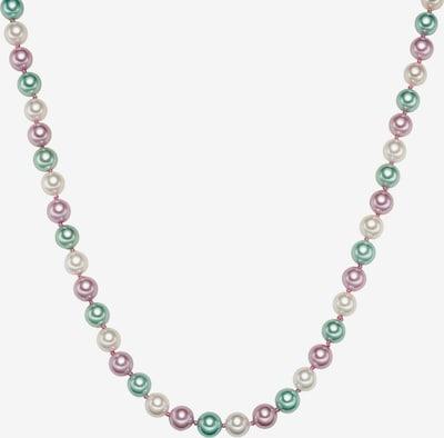 Rafaela Donata Kette in pastellgrün / pastellpink / silber / perlweiß, Produktansicht