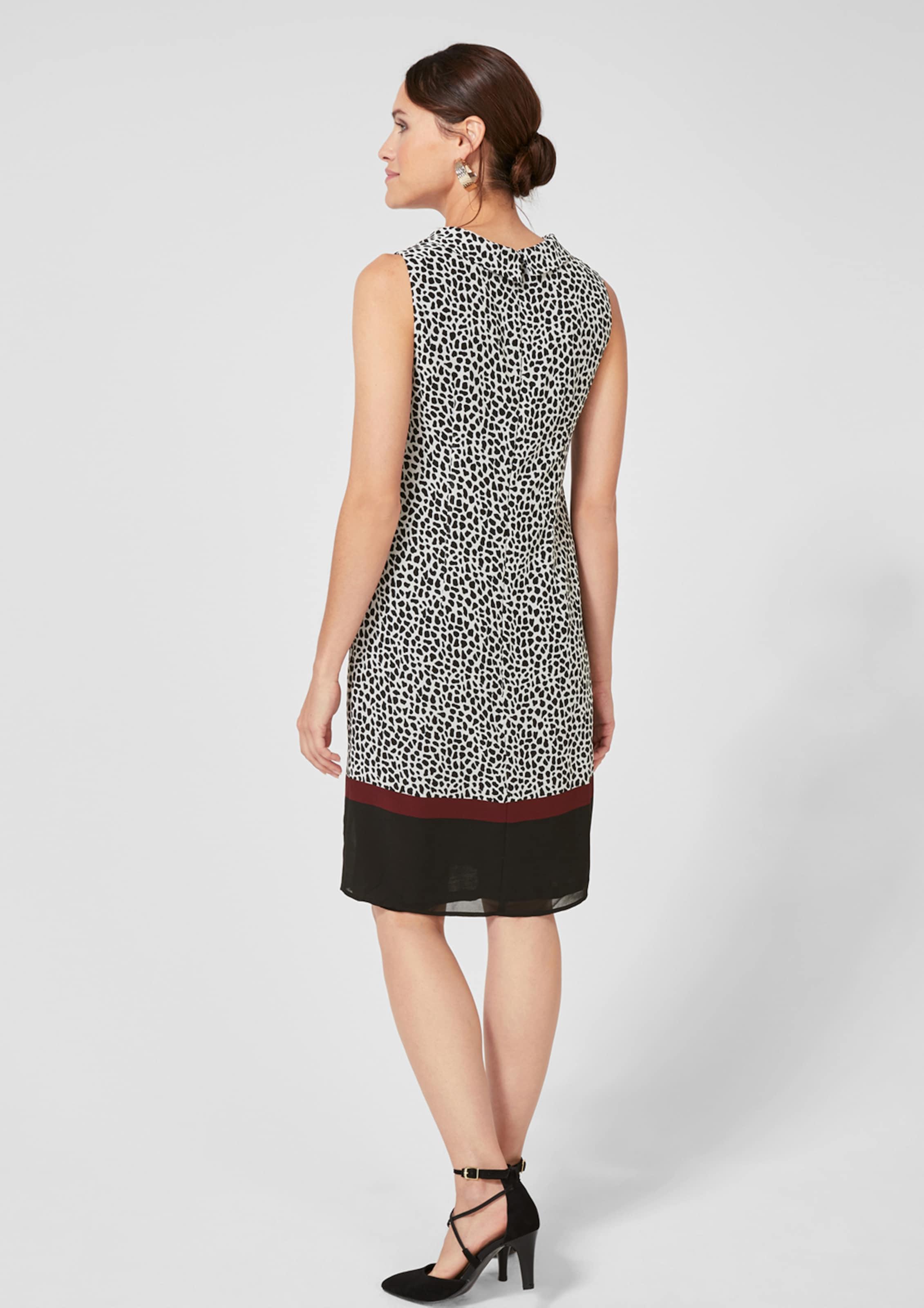 Black Weiß BlutrotSchwarz Kleid In S oliver Label E9IWDH2