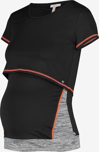 Esprit Maternity Haut de sport en gris chiné / rouge / noir, Vue avec produit
