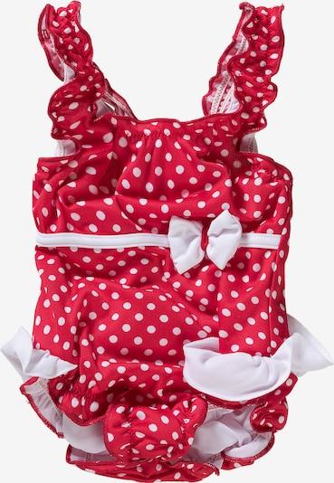FASHY Badeanzug in rot / weiß, Produktansicht
