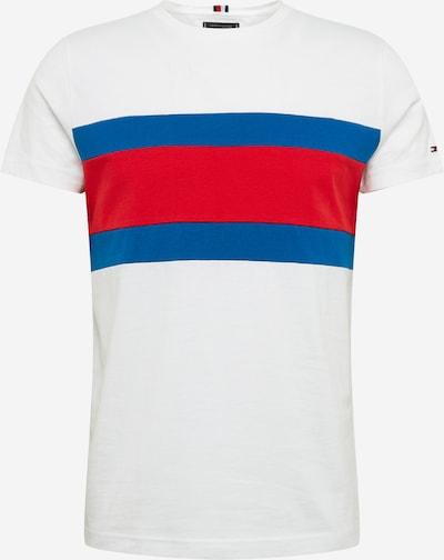 TOMMY HILFIGER T-Shirt en bleu / rouge / blanc, Vue avec produit