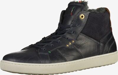 PANTOFOLA D'ORO Sneaker in dunkelblau / kastanienbraun / weiß, Produktansicht