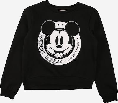 KIDS ONLY Sweatshirt 'MICKEY' in schwarz / weiß, Produktansicht