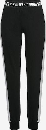 s.Oliver Pyjamabroek in de kleur Zwart, Productweergave