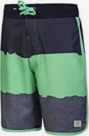 PROTEST Shorts 'Hanson' in nachtblau / mint, Produktansicht