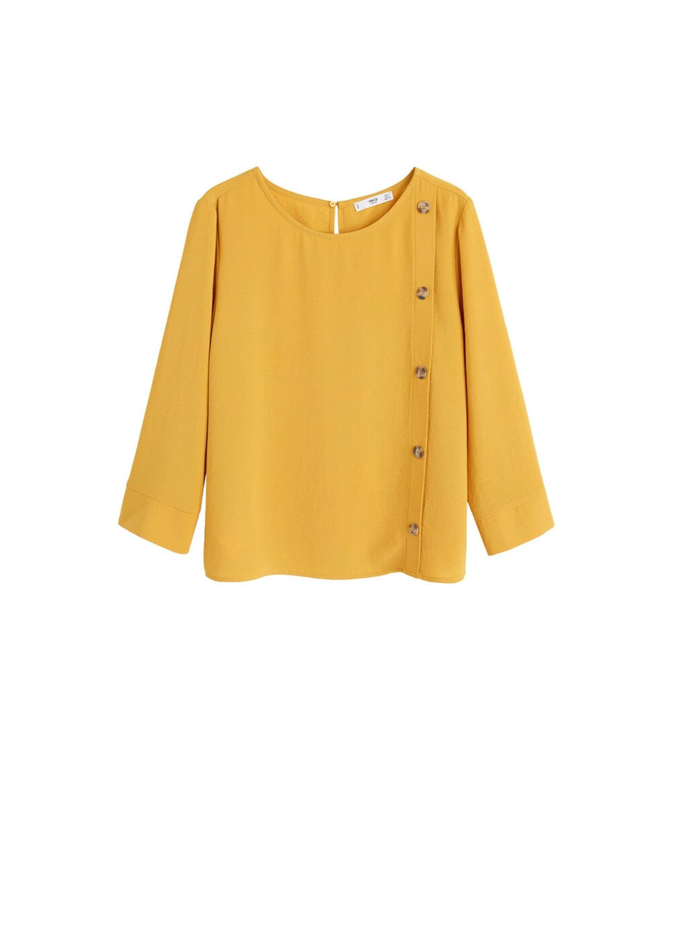'london In h' Bluse Mango Senf ygfY6b7v