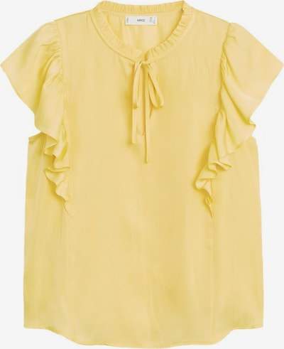 MANGO Bluse 'Fulplit' in gelb, Produktansicht