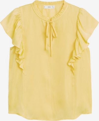 MANGO Blouse 'Fulplit' in de kleur Geel, Productweergave