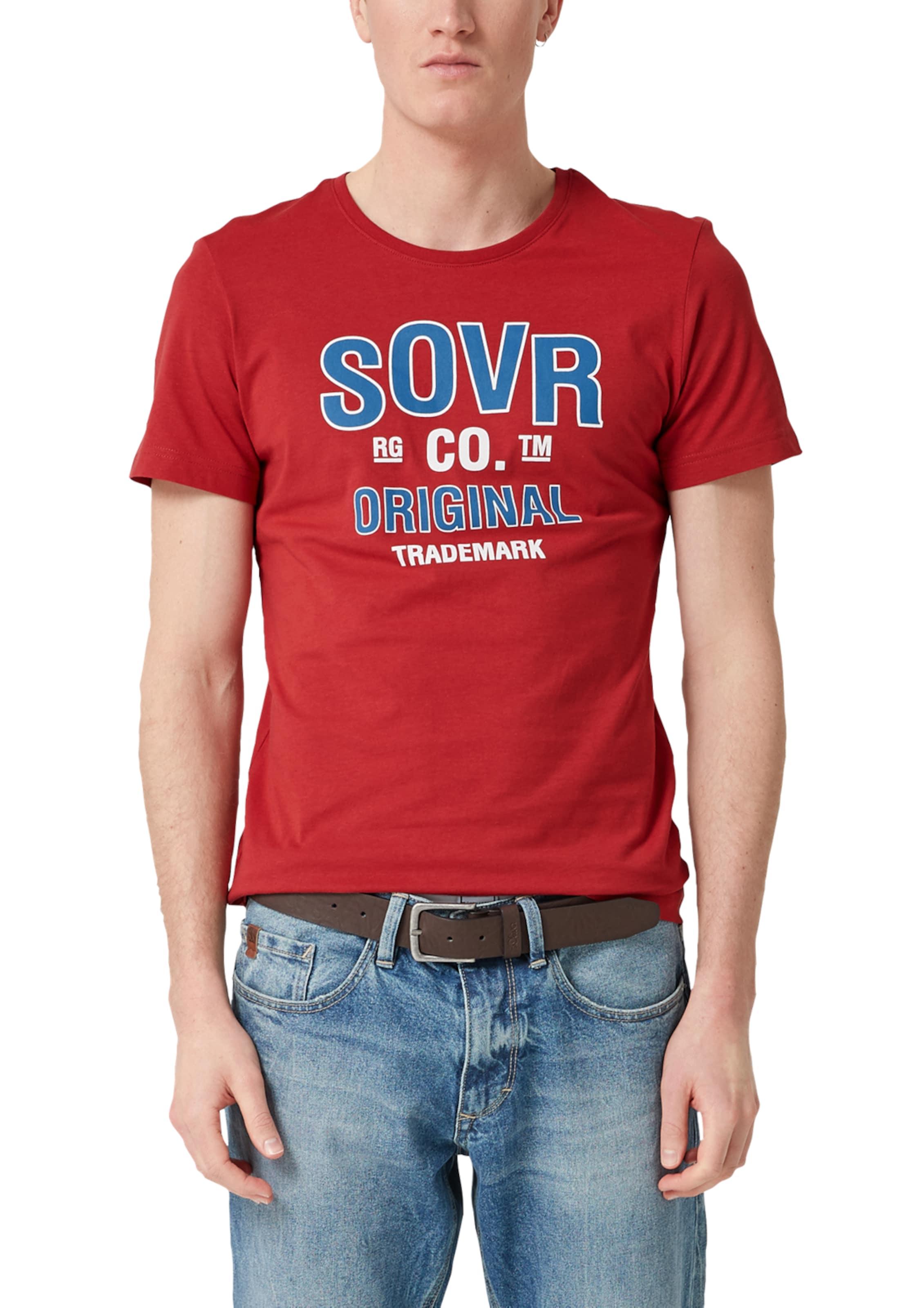 S shirt oliver T Rot In Fl3TK1cuJ