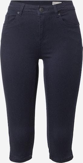 VERO MODA Pantalon 'HOT SEVEN MR PUSHUP SLIT KNICKER COLOR' en bleu nuit, Vue avec produit