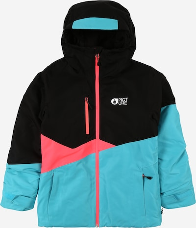 Picture Organic Clothing Jacke in türkis / pink / schwarz, Produktansicht