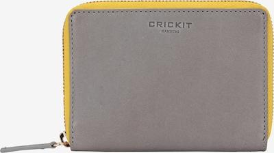 Crickit Portemonnaie in gelb / grau, Produktansicht