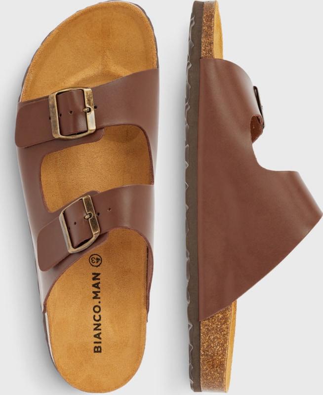 Haltbare Mode billige Schuhe Bianco | Zwillingsriemen Sandalen Schuhe Gut getragene Schuhe