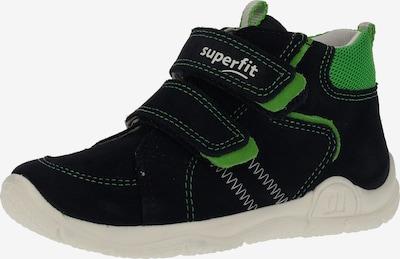 SUPERFIT Halbschuhe in nachtblau / grün, Produktansicht