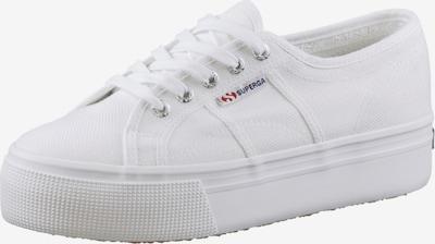 SUPERGA Zemie brīvā laika apavi balts, Preces skats
