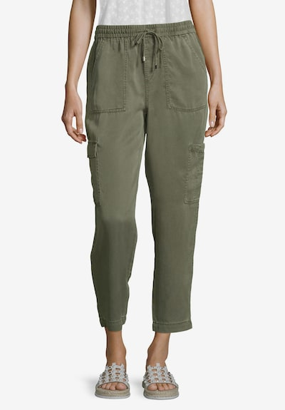Cartoon Hose in khaki: Frontalansicht