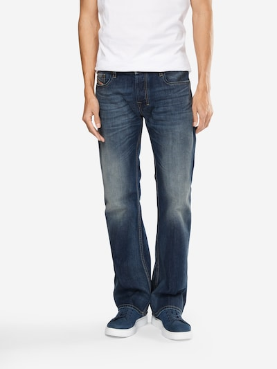 DIESEL Jeans 'ZATINY' in blue denim, Modelansicht