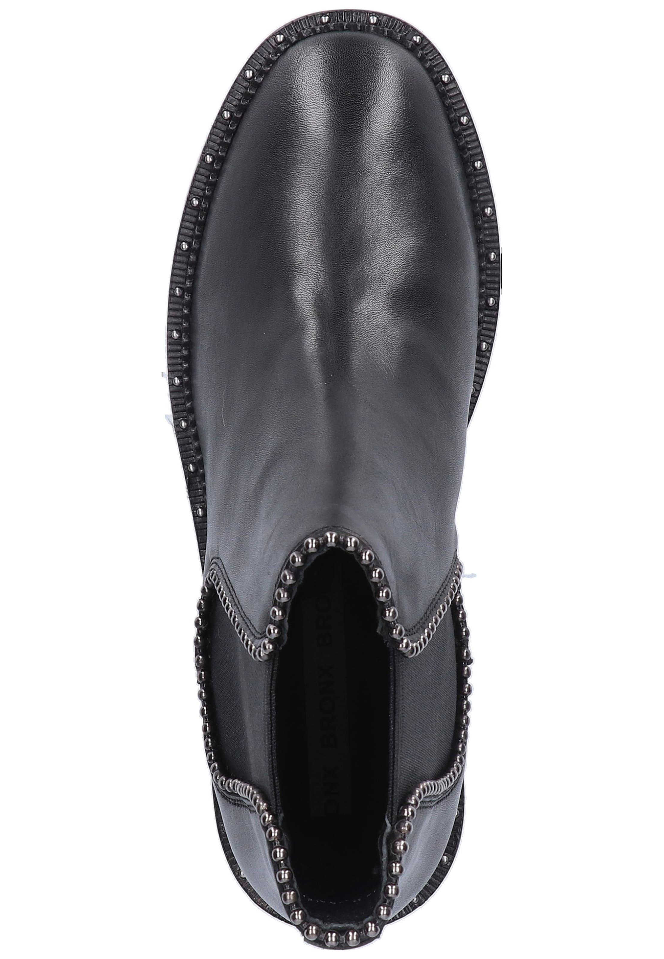 BRONX Chelsea Boots in schwarz