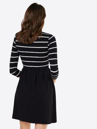 ONLY Kleid in schwarz / weiß: Rückansicht