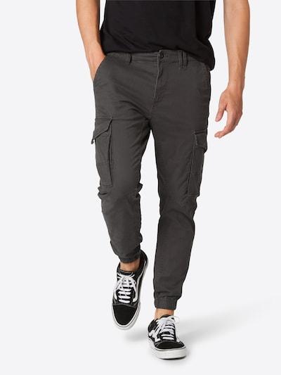 JACK & JONES Pantalon cargo en gris: Vue de face