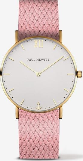 Paul Hewitt Uhr in gold / rosa / weiß, Produktansicht