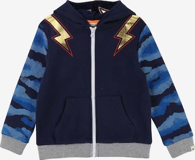 Billybandit Sweatjacke in blau / navy / hellblau / gold / rot, Produktansicht