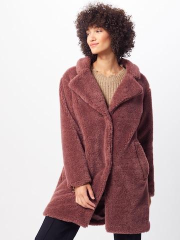 Urban Classics Mantel 'Sherpa' in Rot