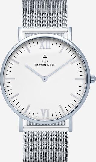 Kapten & Son Analoginen kello 'Campus' värissä hopea, Tuotenäkymä