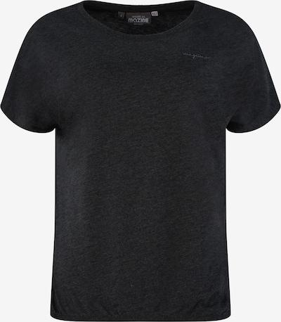 mazine T-Shirt 'Marble' in schwarzmeliert, Produktansicht