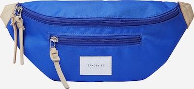 SANDQVIST Gürteltasche 'ASTE' in blau / braun, Produktansicht