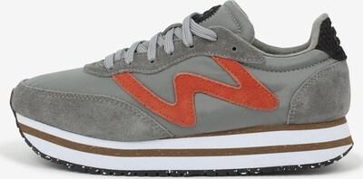 WODEN Sneaker in grau: Frontalansicht