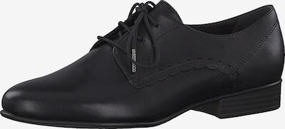 fekete TAMARIS Fűzős cipő, Termék nézet