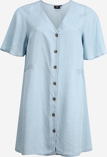 Zizzi Bluse 'MDAPHNE' in hellblau, Produktansicht