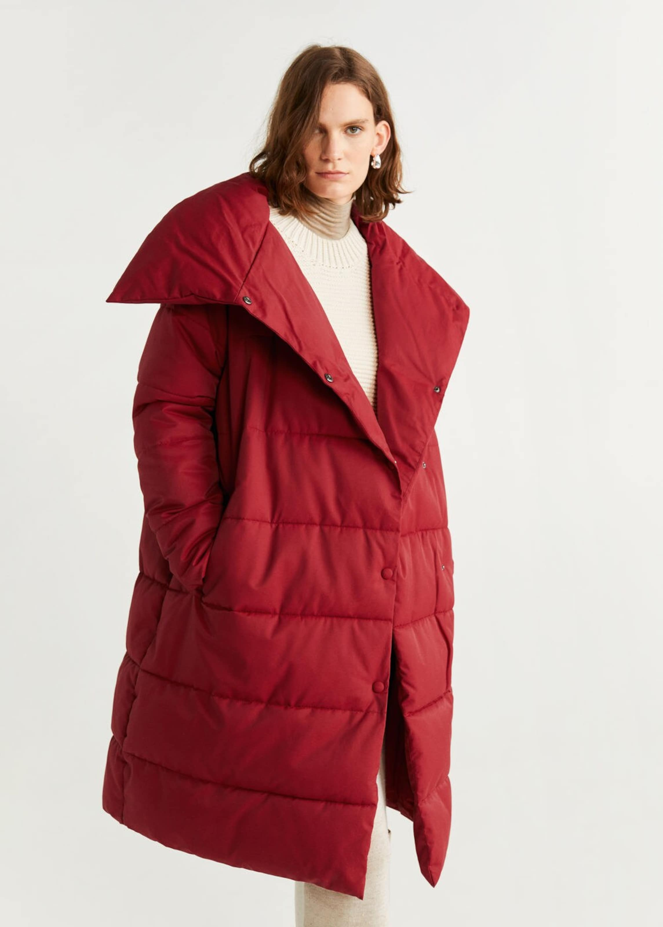 'peter' In Rot Mango Anorak f6Y7yvgb