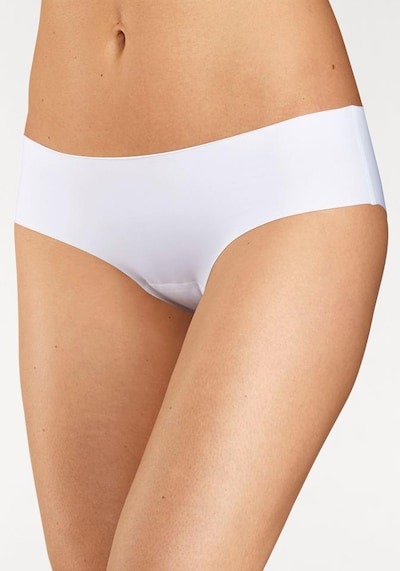 SCHIESSER Lasercut Panty 'Invisible Light' in weiß: Frontalansicht