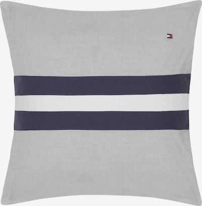 TOMMY HILFIGER Dekokissen 'Color Block' in navy / grau / weiß, Produktansicht