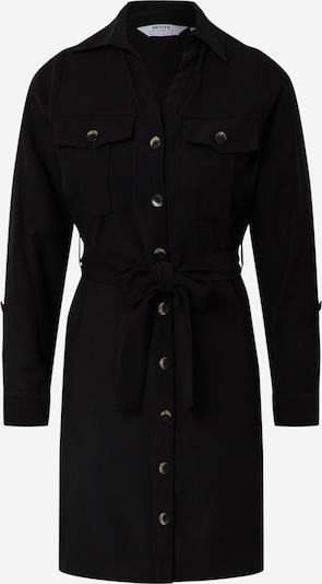 Rochie tip bluză Dorothy Perkins (Petite) pe negru, Vizualizare produs
